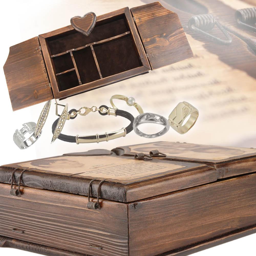 Egyedi ékszertartó doboz