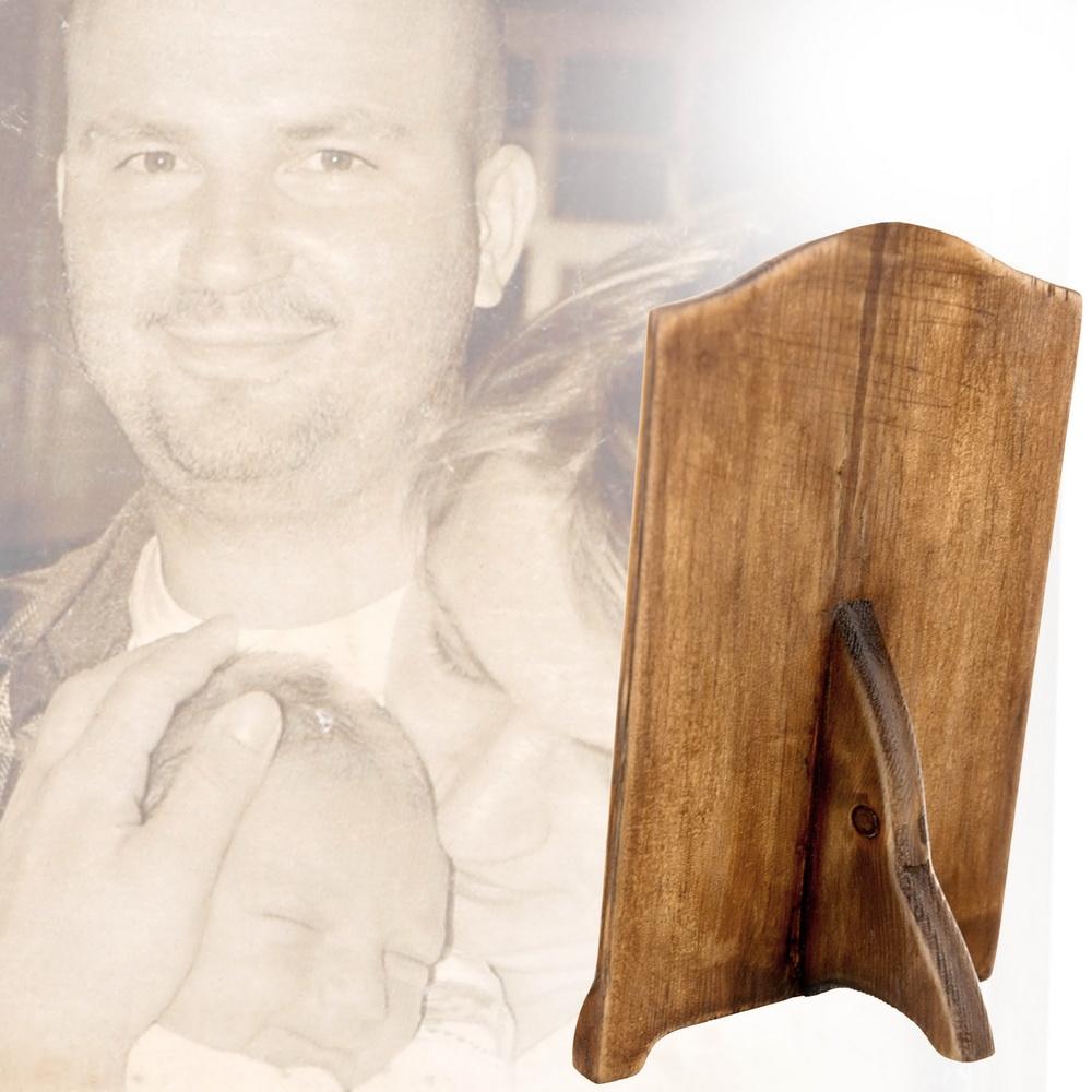 fából készült ajándék saját fényképpel