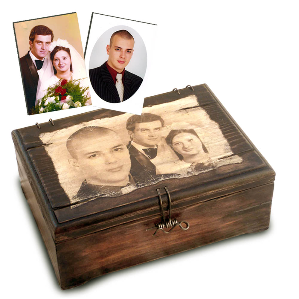 Fényképes doboz esküvőre
