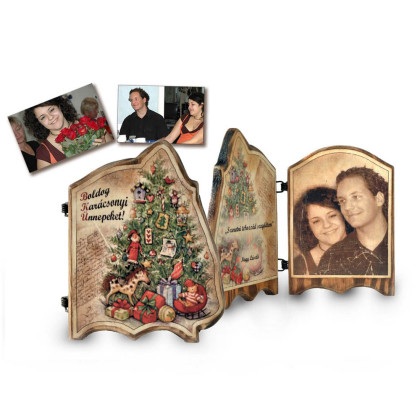 Fényképes ajándék karácsonyra