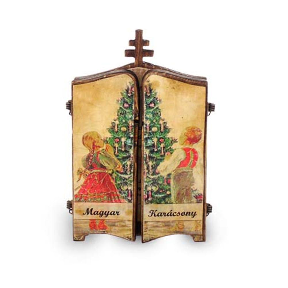 Karácsonyi fényképes fakönyv
