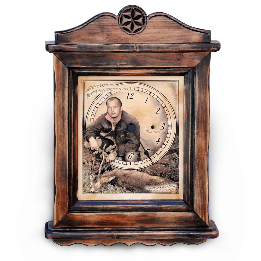 Kézműves óra saját fényképpel