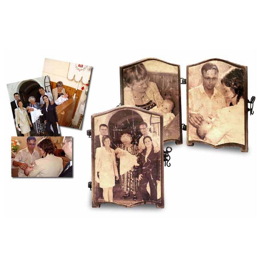 Fényképes tábori fakönyv