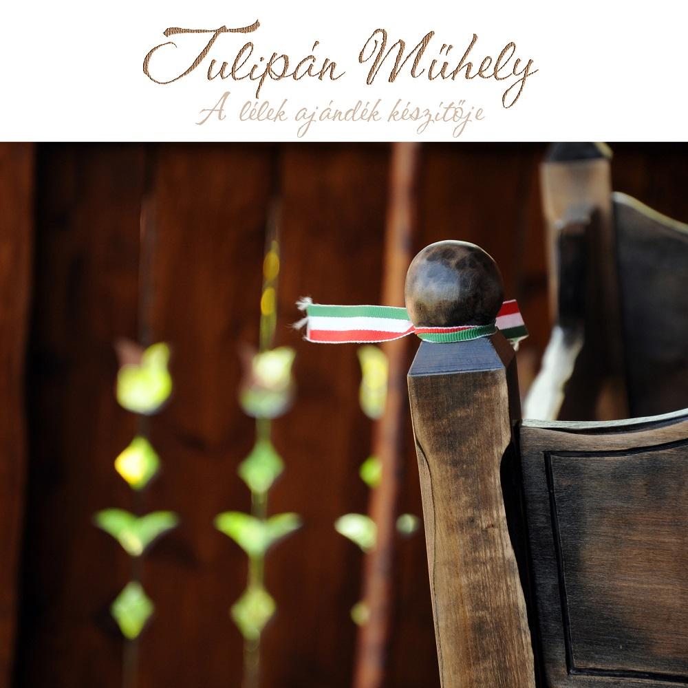 Kézműves bölcső a Tulipán Műhely jóvoltából