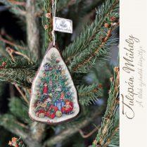 Kézműves egyedi karácsonyfadísz