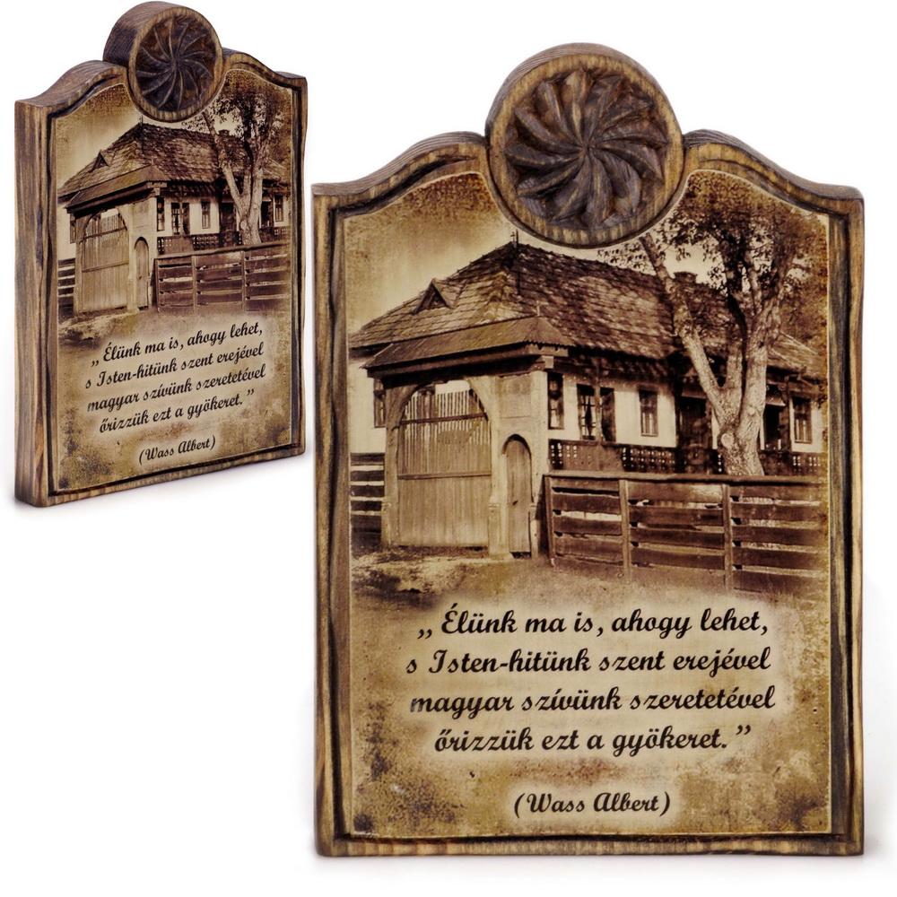 egyedi antikolt házi áldás