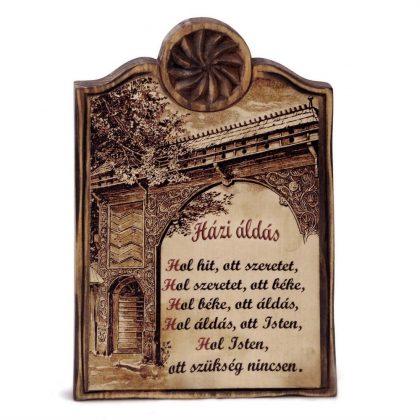 fából készült házi áldás0