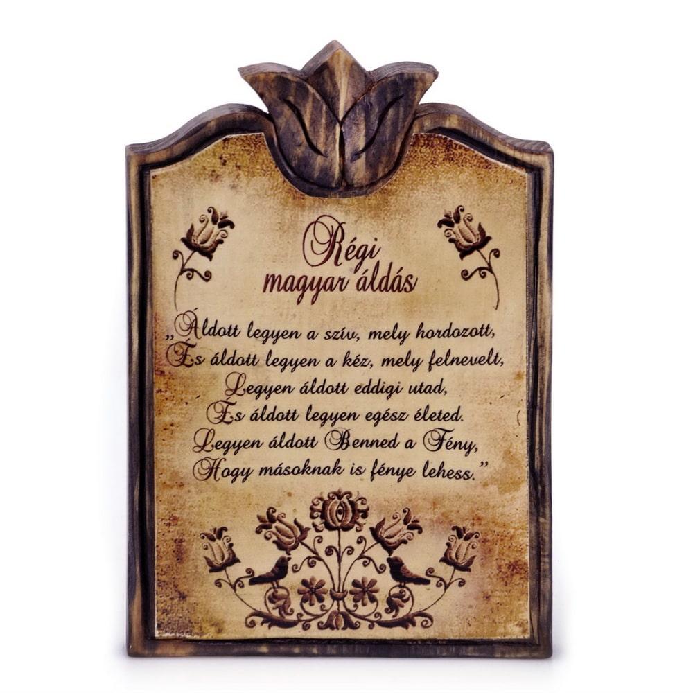 régi magyar házi áldás