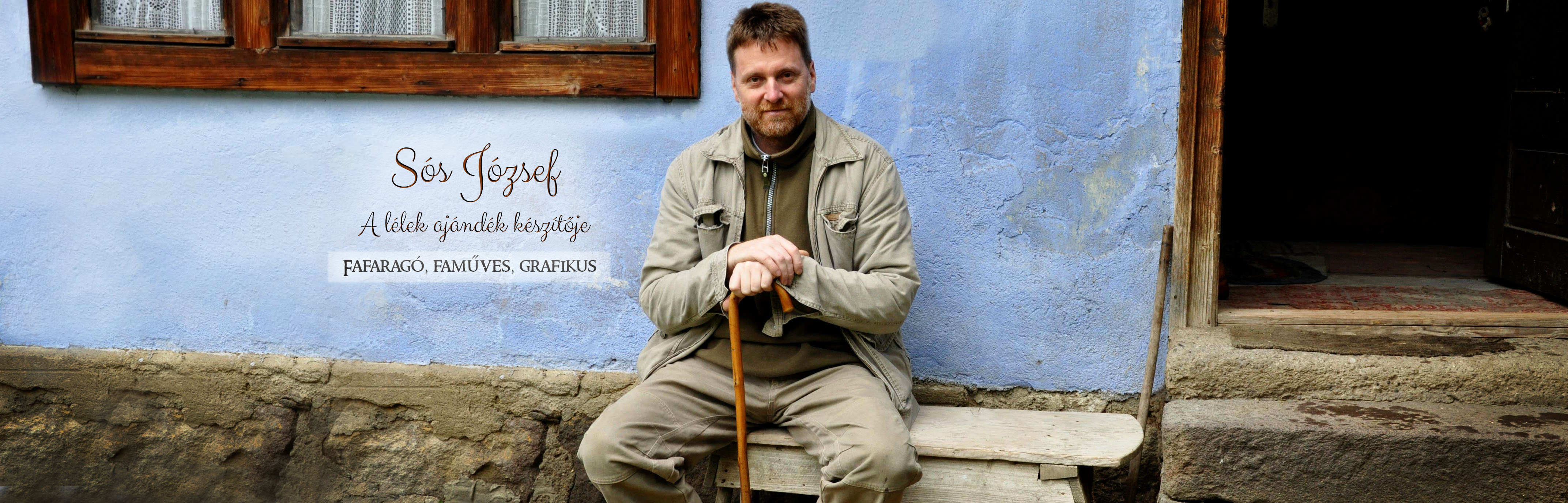 Sós József fafaragó, faműves és grafikus